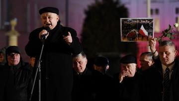 """14-02-2017 21:55 """"To może być wezwanie do nieprzypadkowych działań"""". Kaczyński o wsparciu opozycji dla 21-latka"""