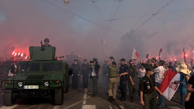 Błaszczak ws. incydentu w Gdańsku: policja zachowała się prawidłowo