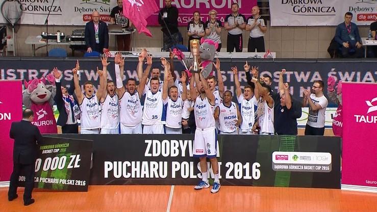 2016-02-21 Rosa Radom wznosi Puchar Polski! C. J. Harris z tytułem MVP