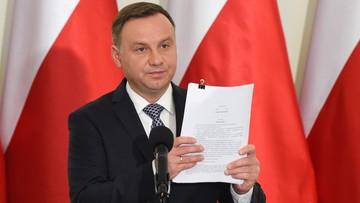 Prezydenckie projekty ustaw o KRS i SN zostały złożone do Sejmu