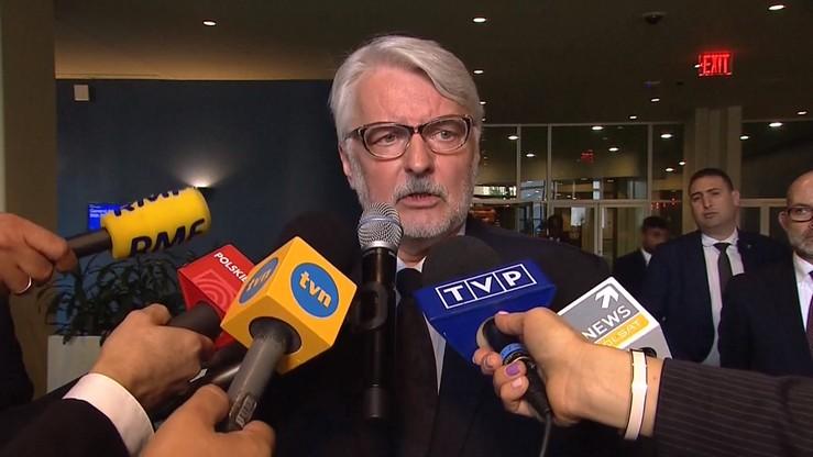 """Waszczykowski w """"Le Figaro"""": możliwe, że potrzebne będą nowe rozwiązania dotyczące ochrony przed Rosją"""
