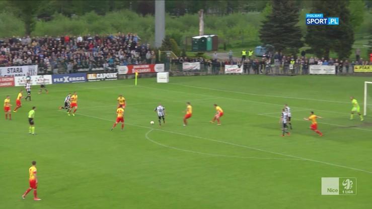 2017-05-18 Sandecja Nowy Sącz - Znicz Pruszków 5:2. Skrót szalonego meczu