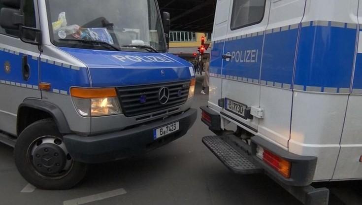 Stu zatrzymanych po starciach z policją w Niemczech