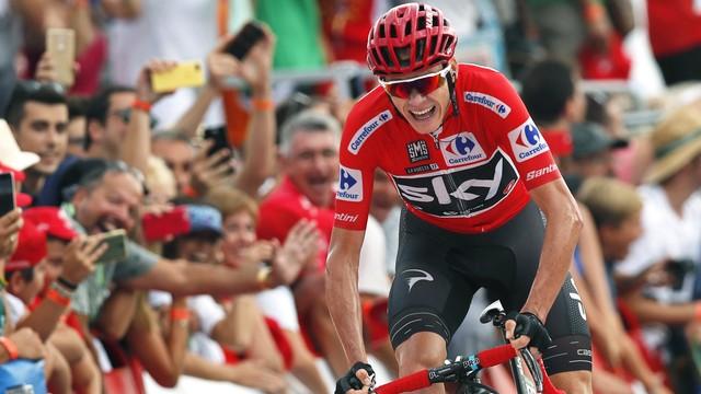 Vuelta a Espana - Froome wygrał etap i umocnił się na prowadzeniu