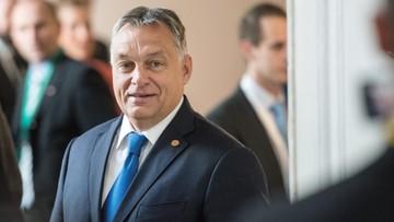 29-09-2016 14:32 Premier Orban o imigrantach: gdyby nie Węgry, Europa by upadła