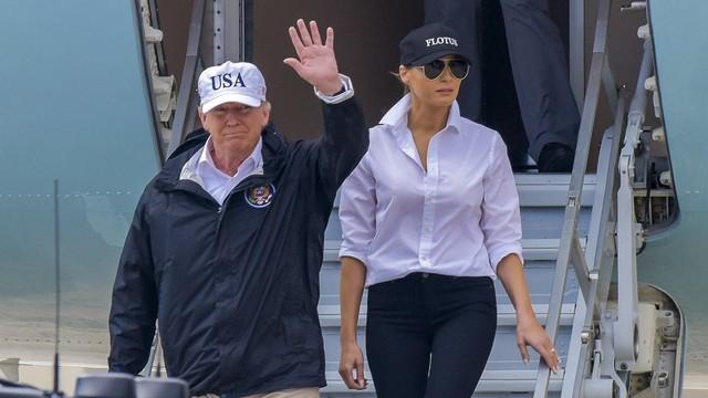 USA: Trump przyleciał do Teksasu, który nawiedziła powódź