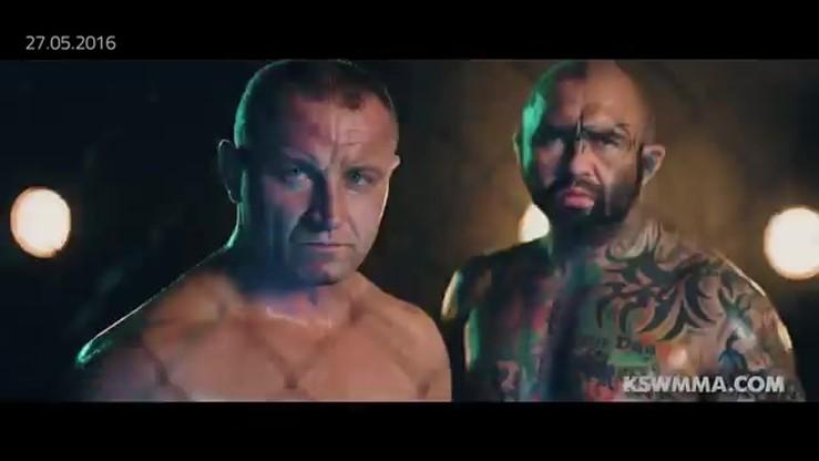 2016-05-23 KSW 35: Zapowiedź walki Pudzianowski - Różalski