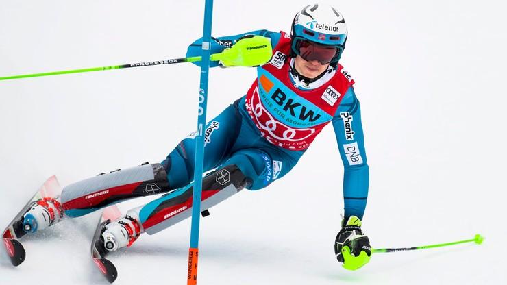 Alpejski PŚ: Triumf Kristoffersena w slalomie