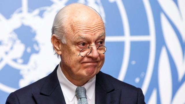 Mistura: USA i Rosja muszą zadbać o rozejm w Syrii