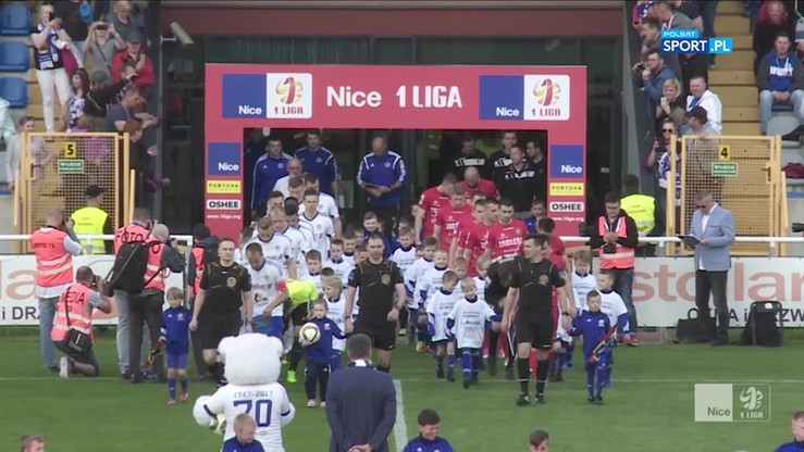 2017-05-18 Wigry Suwałki - Zagłębie Sosnowiec 0:3. Skrót meczu
