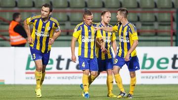 2015-10-23 1 liga: Arka Gdynia - Stomil Olsztyn. Transmisja w Polsacie Sport Extra