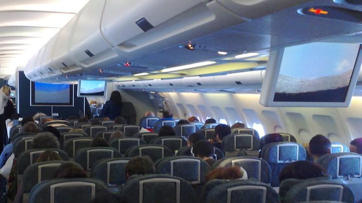 Samolot trząsł się przez dwie godziny. Pilot poprosił pasażerów o modlitwę