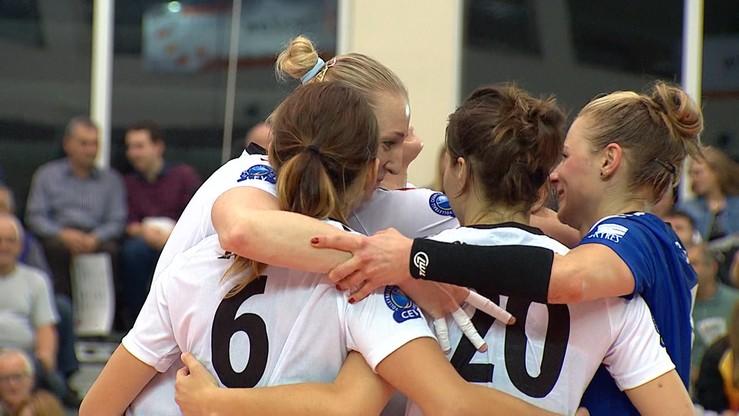 2017-10-21 Developres SkyRes Rzeszów awansował do kolejnej rundy Ligi Mistrzyń