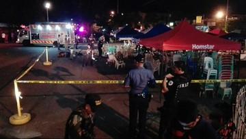 02-09-2016 20:59 Filipiny: co najmniej 10 zabitych w wybuchu na targowisku