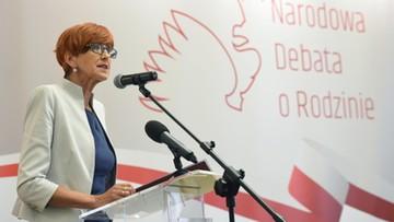 Rafalska: musimy chronić i wzmacniać małżeństwa