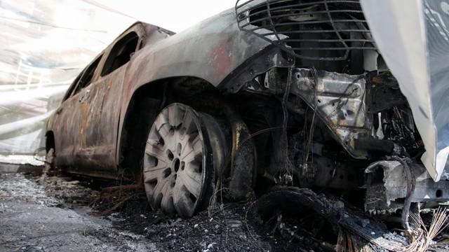 Donieck: spalono samochody misji OBWE
