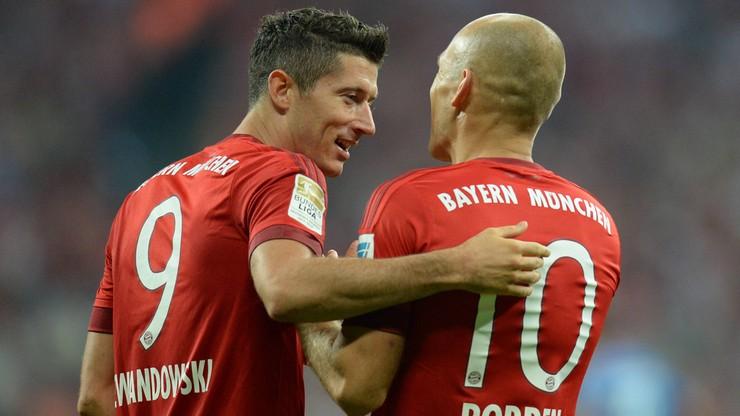 Lewandowski kontra Robben! Niemieckie media piszą wprost o konflikcie