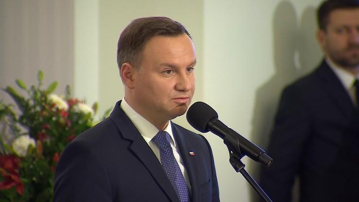 """Prezydent """"czeka na Nobla dla Polaka"""". Na razie wręczył tzw. polskie Noble"""