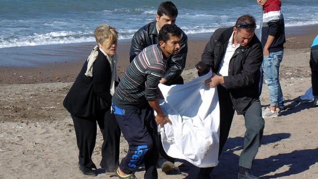 Grecja: na Morzu Egejskim utonęło 11 migrantów, w tym sześcioro dzieci