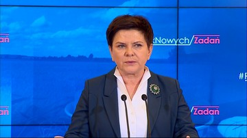 06-02-2017 11:49 Szydło pytana o rzecznika MON: ta sprawa jest w kompetencji ministra Macierewicza