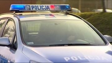 Wypadek w Ostrowie Wlkp. Trzy osoby ciężko ranne, w tym dwóch policjantów
