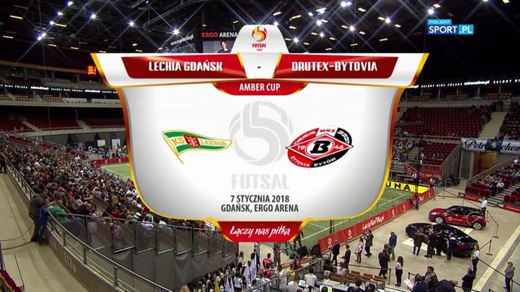 Amber Cup: Lechia - Drutex-Bytovia 2:3. Skrót meczu