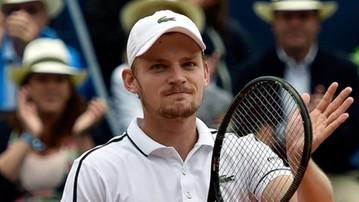 2016-10-22 ATP Antwerpia: Porażka Goffina w półfinale