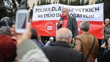 2016-05-01 Warszawski marsz Sprawiedliwości Społecznej przeciwko dzikiej reprywatyzacji