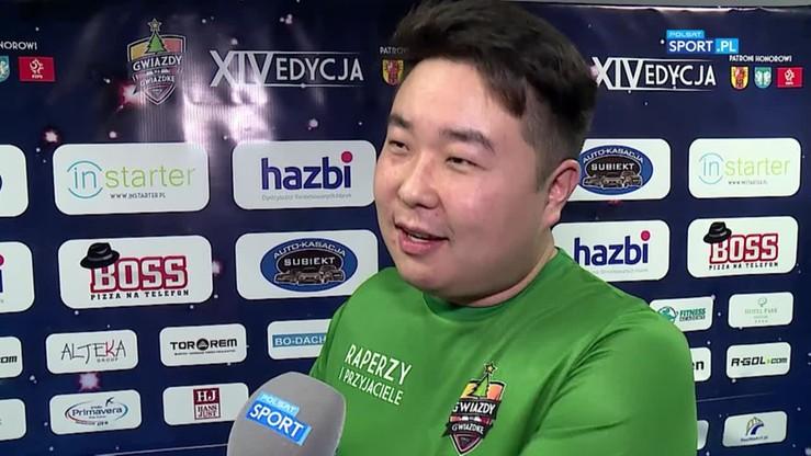 Bilguun Ariunbaatar: Mój kolega jest podobny do Grosika i dzięki temu nie musi płacić w restauracjach