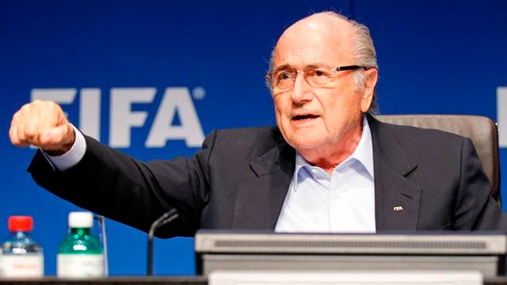 Blatter: Listopad i grudzień najlepszymi miesiącami na MŚ w Katarze