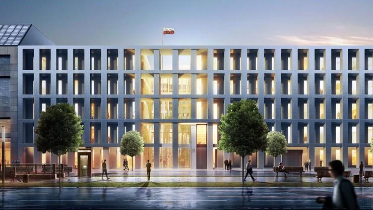 Nowy budynek ambasady RP w Berlinie do 2019 r.