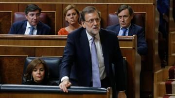 31-08-2016 20:45 Rajoy poniósł porażkę. Nie uzyskał wotum zaufania, by utworzyć rząd