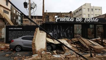 24-09-2017 07:05 Największa tragedia od 89 lat. Portoryko po przejściu huraganu Maria