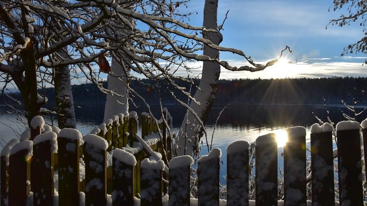 2016-12-02 Śnieg i słońce na zachodzie Polski