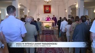 Dziennikarze i politycy żegnali Janinę Paradowską na mszy w jej intencji