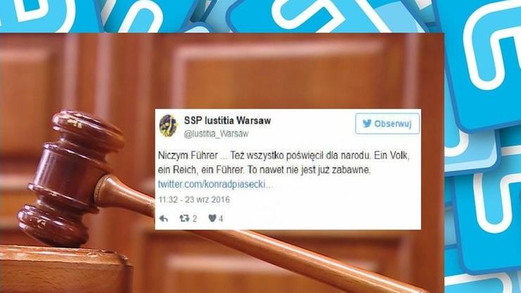 Porównał Kaczyńskiego do Hitlera. Sędzia przeprasza i składa rezygnację