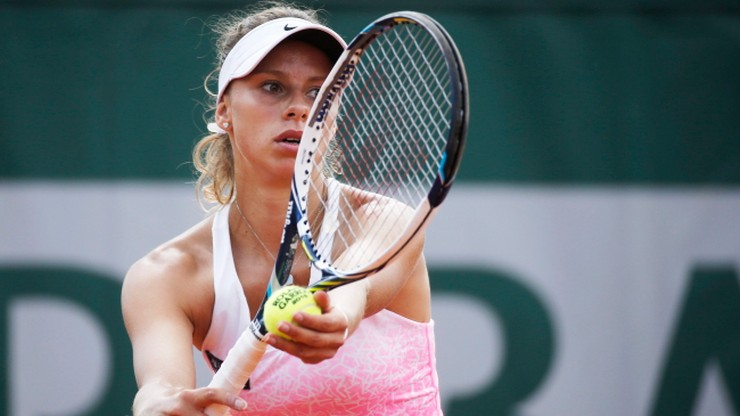Osamotniona Linette siódmego dnia French Open