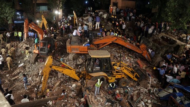 Zawalił się budynek w Bombaju. Wiele ofiar
