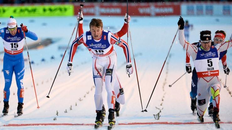 Narciarskie MŚ: Petter Northug złotym medalistą w sprincie