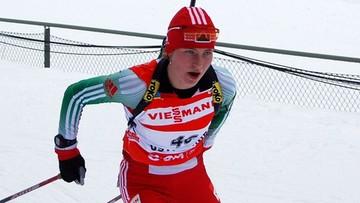 01-10-2016 17:14 Szczęśliwi rodzice. Biathloniści Daria Domraczewa i Ole Einar Bjoerndalen mają córkę