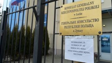 Wszczęto śledztwo ws. ostrzelania konsulatu w Łucku
