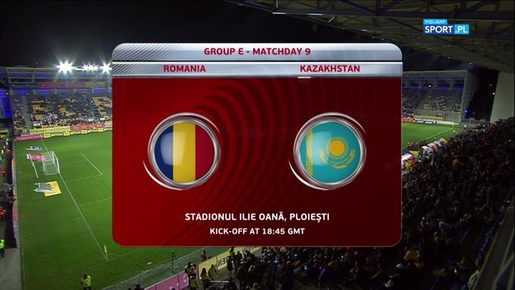 2017-10-05 Rumunia - Kazachstan 3:1. Skrót meczu