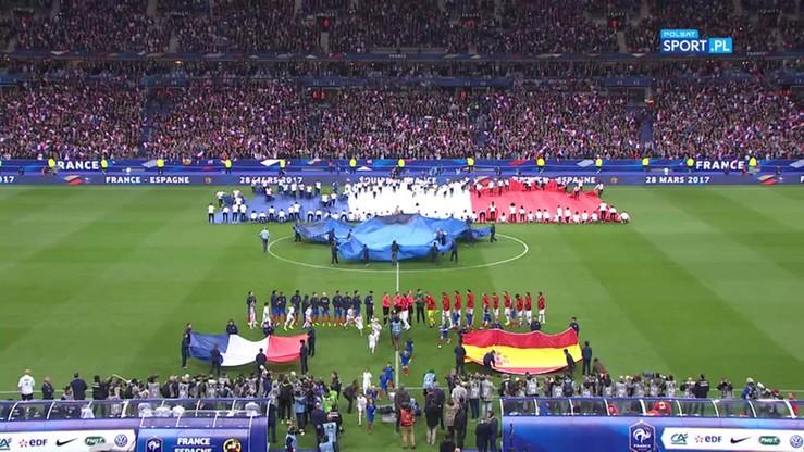 Francja - Hiszpania 0:2. Skrót meczu