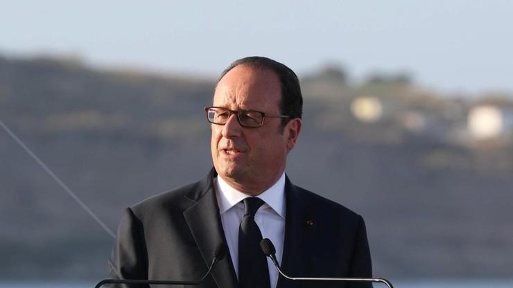 Hollande, Putin i Merkel rozmawiali o sytuacji na Ukrainie