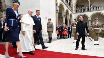 27-07-2016 17:57 Papież na Wawelu o Janie Pawle II, polskiej tożsamości i migrantach