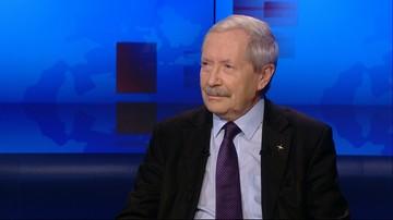 Onyszkiewicz: jeżeli rząd zignoruje opinię Komisji Weneckiej, to możemy znaleźć się w oślej ławce