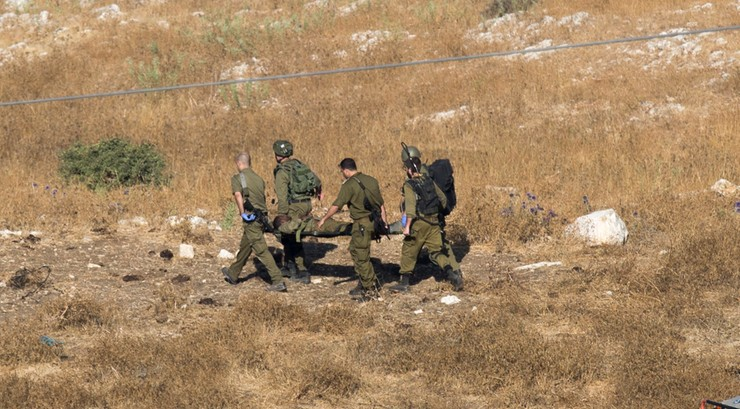 Granat wybuchł przypadkowo w izraelskim pojeździe wojskowym
