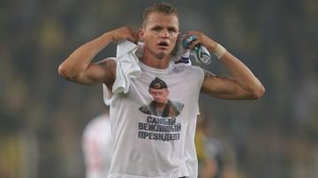 2016-02-17 Rosyjski piłkarz sprowokował Turków... koszulką z Putinem