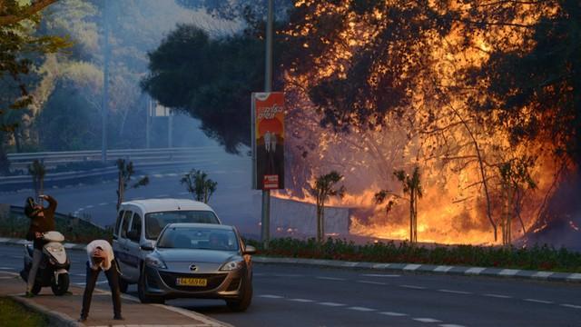 Izrael: olbrzymi pożar w Hajfie - ewakuowano dziesiątki tysięcy ludzi