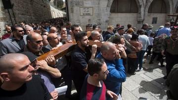 25-03-2016 16:25 Droga Krzyżowa w Jerozolimie pod specjalnym nadzorem policji